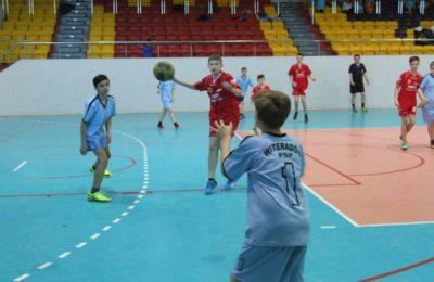 Więcej o: Igrzyska Miejsko-Gminne w Piłce Ręcznej Chłopców