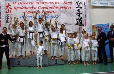 Więcej o: IX Otwarte Mistrzostwa Jury Krakowsko-Częstochowskiej Oyama Karate Dzieci i Młodzieży