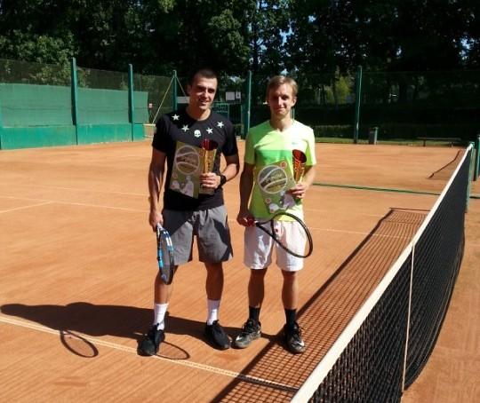 Zawodnicy podczas Grand Prix Olkusza w Tenisie Ziemnym