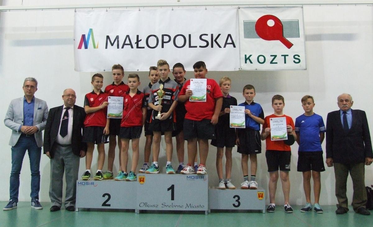 Uczestnicy podczas Finału Wojewódzkiego Drużynowego Turnieju Uczniowskiego