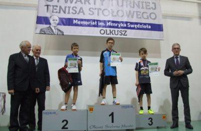 Więcej o: Otwarty Turniej Tenisa Stołowego – 3. Memoriał Henryka Swędzioła