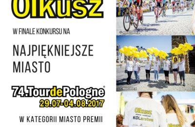 Więcej o: Olkusz w finale konkursu na Najpiękniejsze Miasto Tour de Pologne