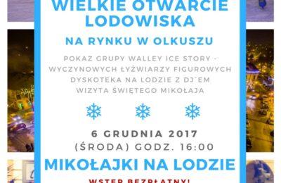 Więcej o: Zapraszamy na lodowisko w Olkuszu