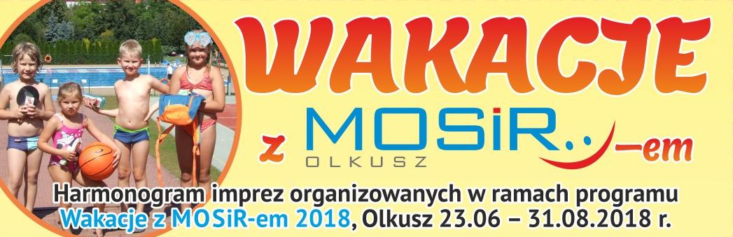 Baner promujący Wakacje z MOSiR-em :)