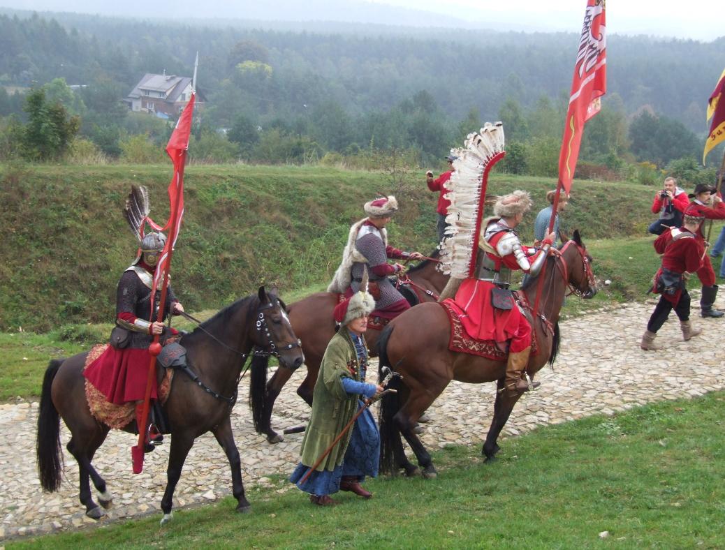 Husaria podczas Święta Szlaku Orlich Gniazd