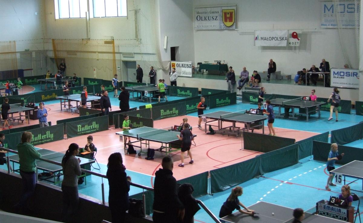 Zdjęcie promujące Wojewódzki Turniej Klasyfikacyjny w Tenisie Stołowym Kadetów