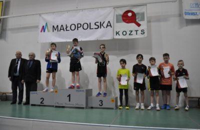 Więcej o: III Wojewódzki Turniej Klasyfikacyjny Żaczek i Żaków w Tenisie Stołowym