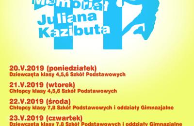 Więcej o: XI Memoriał Juliana Kazibuta – Turniej Piłki Ręcznej