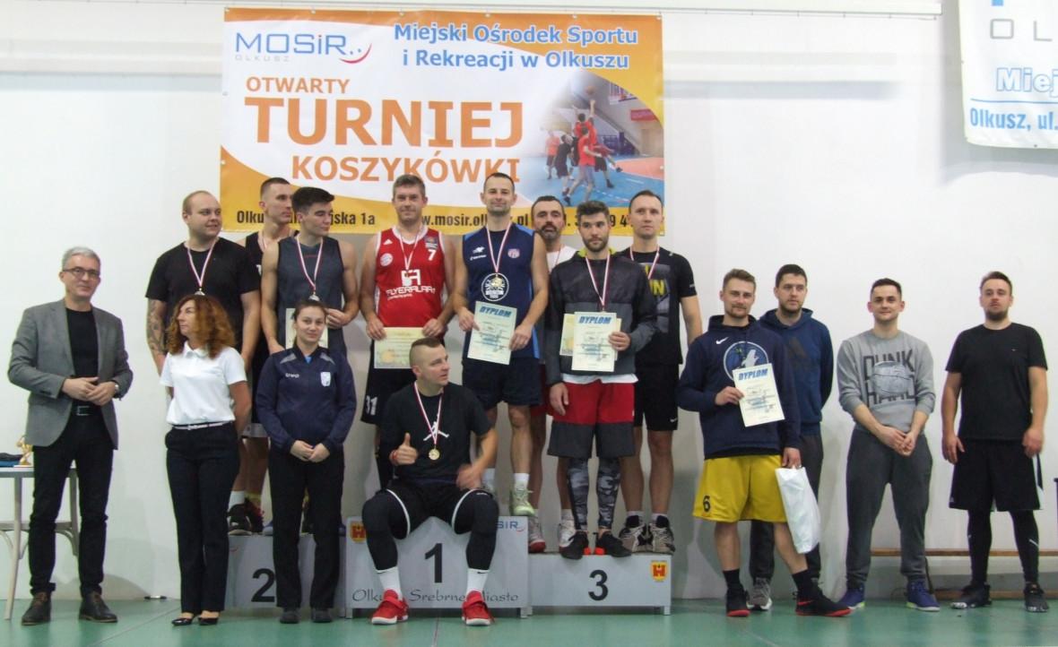 Zwycięzcy Otwartego Turnieju Triobasketu o Puchar Srebrnego Miasta