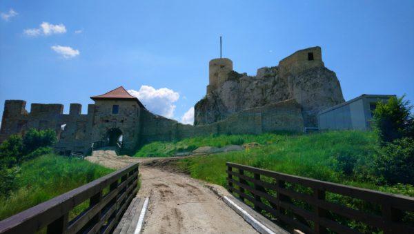 Brama wjazdowa do zamku w Rabsztynie