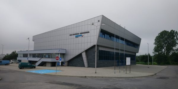 Hala Sportowo-Widowiskowa od strony południowej
