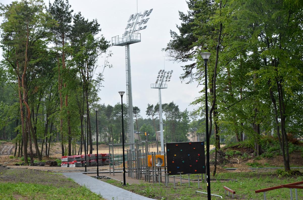 Rewitalizowana Czarna Góra z nowym placem zabaw i boiskiem sportowym