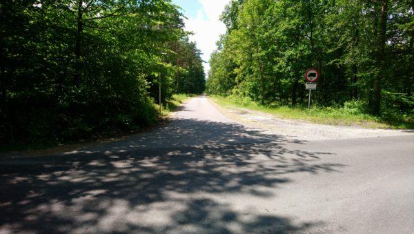 Droga z Gorenic do Olkusza
