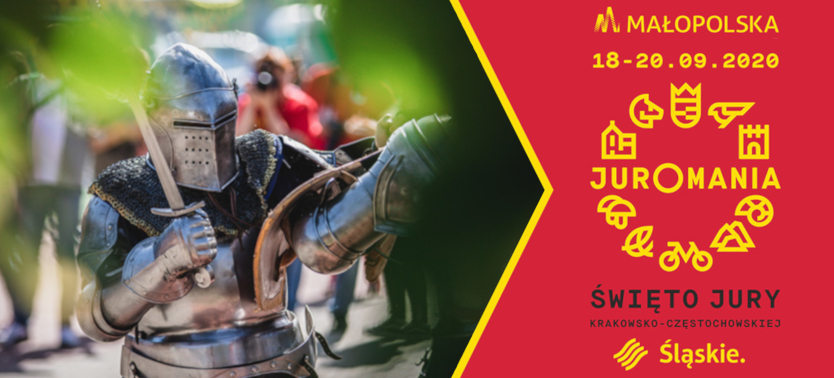 Slajder promujący Juromanię - Rabsztyn 2020