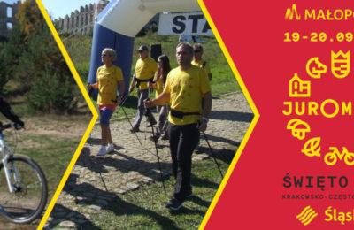 Więcej o: Indywidualny Rodzinny Rajd po Olkuskich Szlakach Rowerowych, Marsz Nordic-Walking oraz Strefa Aktywności