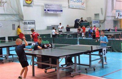 Więcej o: Otwarty Turniej Tenisa Stołowego Memoriał Henryka Swędzioła