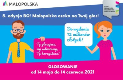 Więcej o: Głosuj na Budżet Obywatelski Małopolska 2021