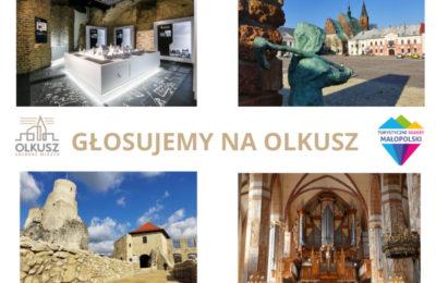"""Więcej o: Głosuj na Olkusz w """"Turystycznych Skarbach Małopolski"""""""