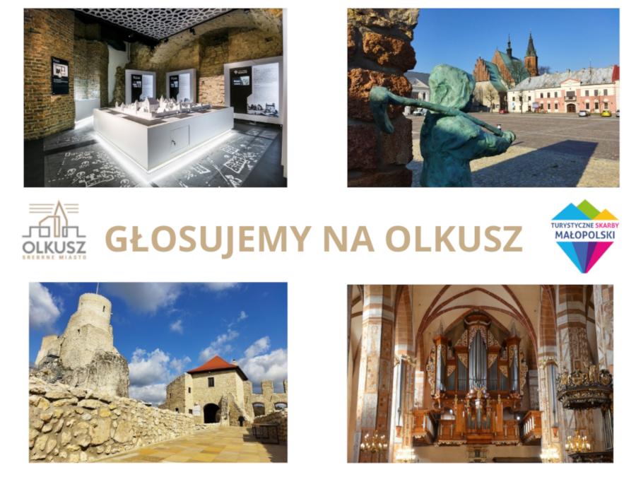Baner promujący Małopolskie Skarby Turystyczne